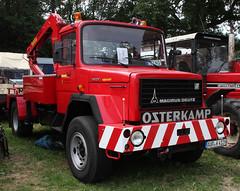 Magirus-Deutz Wrecker (Schwanzus_Longus) Tags: bockhorn german germany old classic vintage truck lorry vehicle lkw laster lastwagen cargo transport magirus deutz iveco 130 d9 tow recovery