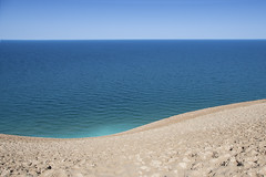 Sleeping Bear Dunes (mizzginnn) Tags: lakemichigan water greatlakes dunes beach sand climb puremichigan upnorth