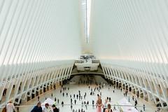 New York (2018)  World Trade Center Transportation Hub - Oculus (Giorgio Dua (fuzzy_l0gik)) Tags: newyork oculus calatrava