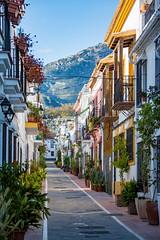 Old Town Street (JKmedia) Tags: spain 2018 boultonphotography marbella mountain mountains street walkway old town urban suburb