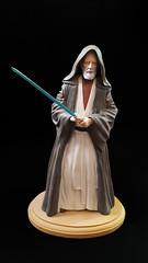 Polydata Obi Wan Kenobi model (ModelsbyChris) Tags: starwars model build screamin kaiyodo empire hansolo stormtrooper leia obiwankenobi darthvader originaltrilogy kit vinyl 14scale modelsbychris polydata
