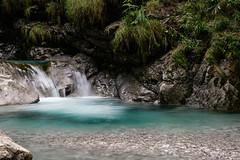Puddle of Water (IlMorze) Tags: 1855 bergamo fuji italy vertova xt20 acqua cascate fiume lendscape longexposure natura river rocce water wild italia
