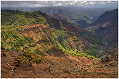 Waimea Canyon - Kauai, Hawaii (This way comes but once) Tags: nikon d200 waimea canyon hawaii kauai overlook view