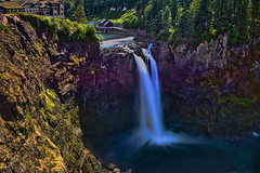 Snoqualmie Waterfall, 6501 Railroad Ave SE Snoqualmie, Washington, USA (Photographer South Florida) Tags: snoqualmiewaterfall 6501railroadavesesnoqualmie washington usa geology rocks scenic longexposure