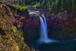 Snoqualmie Waterfall, 6501 Railroad Ave SE Snoqualmie, Washington, USA