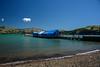 Just Little Clouds (Jocey K) Tags: wharf bankspeninsula newzealand nikond750 akaroa hills sea akaroaharbour scene seascape clouds sky boats shadows water seashore