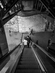 20180610_153308 (Damir Govorcin Photography) Tags: people reflections samsungs7 escalator blackwhite monochrome darling harbour sydney architecture leading lines composition