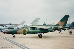 15226 - Dassault-Breguet Alpha Jet A (iainthomson84) Tags: airshow aircraft aeroplane mildenhall raf air fete 2001 alpha jet portugal portuguese