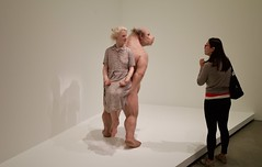 The Carrier, 2012 (daj333) Tags: patriciapiccinini thecarrier art sculpture hyperrealism leica m9 brisbane goma