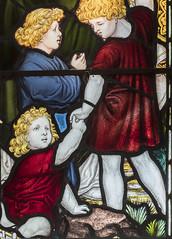 Brandesburton, St Mary's church window detail (Jules & Jenny) Tags: stainedglasswindow brandesburton stmaryschurch