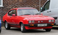 C297 NEG (Nivek.Old.Gold) Tags: 1985 ford capri 16 ls 5spd mk3