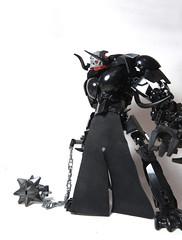 Shadow Brute (Johann Dakitsch) Tags: cursed wasteland bionicle lego moc toa fantasy troll skull toy custom