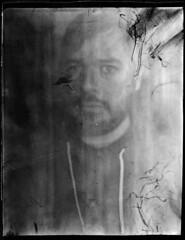 Intrepid (8x10) 2018 06 18 (Sibokk) Tags: 8x10 bw camera film intrepid mono photography scotland selfie uk xray contactprint edinburgh focusfail fogatron