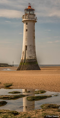 Perch Rock Lighthouse (Steve Samosa Photography) Tags: wallasey england unitedkingdom gb lighthouse seaside seascape coast coastline beach wirral newbrighton