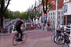 RUNNING & BIKING || JOGGEN & FIETSEN IN DELFT (Anne-Miek Bibbe) Tags: delft annemiekbibbe bibbe nederland 2018 canonpowershotsx280hs mei may mai maggio maio voorjaar spring primavera printemps lente frühling fietsen biking