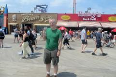 Man With Ice Cream Cone (edenpictures) Tags: coneyisland brooklyn newyorkcity nyc jim boardwalk icecreamcone