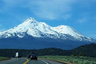 Mt. Shasta along Hwy 97