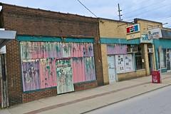 Discount Store and Barber Shop, Fairmont, WV, Fairmont, WV (Robby Virus) Tags: fairmont westvirginia wv street scene closed discount store barber shop barbershop al als abandoned