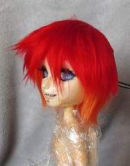 Yarn Wig for Taeyang (PlaceToBeMe) Tags: dollwig taeyang pullip custom yarnwig customtaeyang