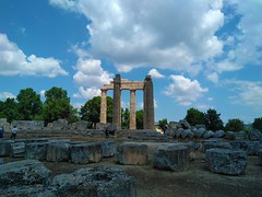 Archaia Nemea, Corinthia, Greece (AnnaGnl) Tags: ancient nemea archaeological site stadium corinthia greece peloponnese temple zeus museum nature flowers