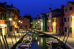 ABM (Another Blue Monday) / Colorful Burano in the evening, Italy (Frans.Sellies) Tags: img5913 burano bluehour italia italy italien