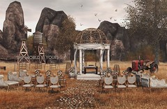 The world is (Y)ours (RyanTailor (Taking Clients)) Tags: furniture outdoor scene setup decor decoration wedding ceremony baroque alirium thehive hive notsobad lb littlebranch merak aphrodite
