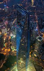Shanghai - Shanghai World Financial Center (tom_stromer) Tags: shanghai world financial center tower china skyscraper night shot lights city puding skyline