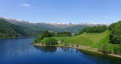 Myrkdalen (Hoff-Z) Tags: norway lake summer myrkdalen sun nature landscape vestlandet naust myrkdalsvatnet