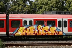 WEISE (rebecca2909) Tags: weise deutschebahn paintedtrains train graffiti