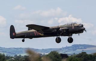 BBMF Avro Lancaster B1 PA474 @ Exeter Airport, Devon.