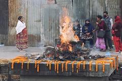 0771 Hindu Funeral (Hrvoje Simich - gaZZda) Tags: people outdoors funeral hindu religion tradition fire kathmandu nepal asia travel nikon nikond750 nikkor283003556 gazzda hrvojesimich