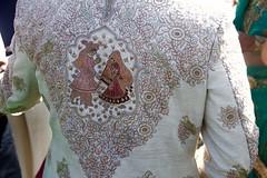 And the groom wore... (stephencharlesjames) Tags: indian hindu wedding brocade jacket carmel california nuptials fashion