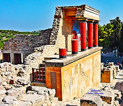 IMG_6936 Crete (Cyberlens 40D) Tags: europe europeancities knossos crete greece greekislands archeology architecture ruins colorful columns buildings ancient culture historic travel destinations platinumheartaward