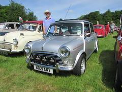 Austin Mini Twenty Five B821ANY (Andrew 2.8i) Tags: classicsatscolton scoltonmanor haverfordwest pembrokeshire car cars classic classics show british bl britishleyland 25 five twenty mini austin