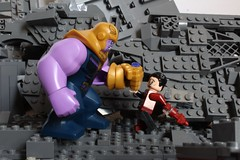 """I hope they remember you"" (wacthsky) Tags: man iron custom titan battle stand final thanos vs tony legoavengersinfinitywar legoinfinitywar infinitywar lego avengers"