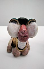 Beate Kuhn animal (SM Tham) Tags: europe germany munich pinakothekdermoderne modernart ceramic sculpture art beatekuhn exhibit display