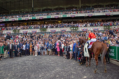 Justify Winners Circle (SouthpawCaptures) Tags: justify bob baffert belmont stakes triple crown park horse