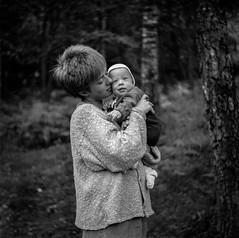 ...could eat you! (karlpeterwulf) Tags: 6x6 ilfordfp4 svartvitt yashica124 halmstad maj1985 analog oretuscherad sweden baby swirley bokeh swirl yashinon 8035