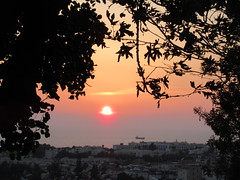 Setting sun, Mediterranean view from Muse cafe kitchen bar, Paphos, Cyprus (Paul McClure DC) Tags: πάφοσ paphos pafos cyprus may2018 sunset restaurant scenery