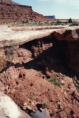 Musselman Arch (twm1340) Tags: 1995 utah ut canyonlands national park motorcycle trip