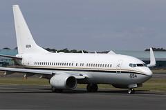 "C-40A ""Clipper"" 166694 '694' US Navy (Mark McEwan) Tags: boeing c40a clipper 166694 usnavy usn unitedstatesnavy aviation aircraft airplane military pik prestwickairport prestwick"