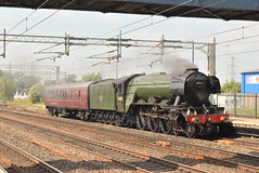 LNER 60103 @ Rugeley Trent Valley station (ianjpoole) Tags: london north eastern railway british railways class a3 pacific 60103 flying scotsman working 5v44 carnforth steamtown southall wcr