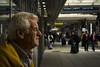 Old man at Naples Station (Matt Pi) Tags: piece place life nikon photography travel station people napoli old sun man art photo