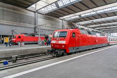 120 120-1 120 133-4 DB Fernverkehr München Hbf 14.06.18 (Paul David Smith (Widnes Road)) Tags: 1201201 1201334 db fernverkehr münchen hbf 140618 br120 munich munichhbf hauptbahnhof