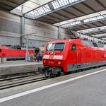 120 120-1 120 133-4 DB Fernverkehr München Hbf 14.06.18 thumbnail