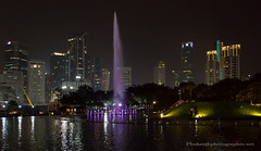 Night Kuala Lumpur, Petronas Twin Towers