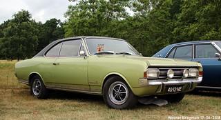 Opel Commodore coupé 1970