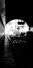 Ville centre (ZUHMHA) Tags: marseille france urban urbain port harbour courbes curve geometrry texture matière line lignes géométrie letter lettre mot word sign texte text écriture tunnel panneau circulation voiture car