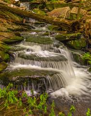 Wolf Brook Cascade (John Kocijanski) Tags: water waterfall brook stream nature sullivancounty landscape longexposure canon5dmkii canon24105mmf4l