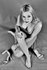 Tired (piotr_szymanek) Tags: olivia oliviad woman blackandwhite young skinny cleavage feet boots highheels face eyesoncamera legs portrait studio hand 1k 20f 50f 5k fromabove 10k
